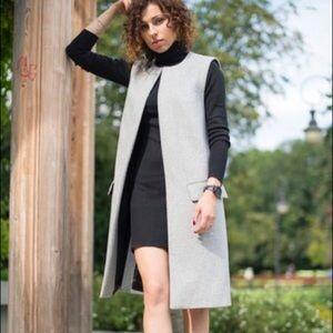 Zara Black Turtleneck Dress L